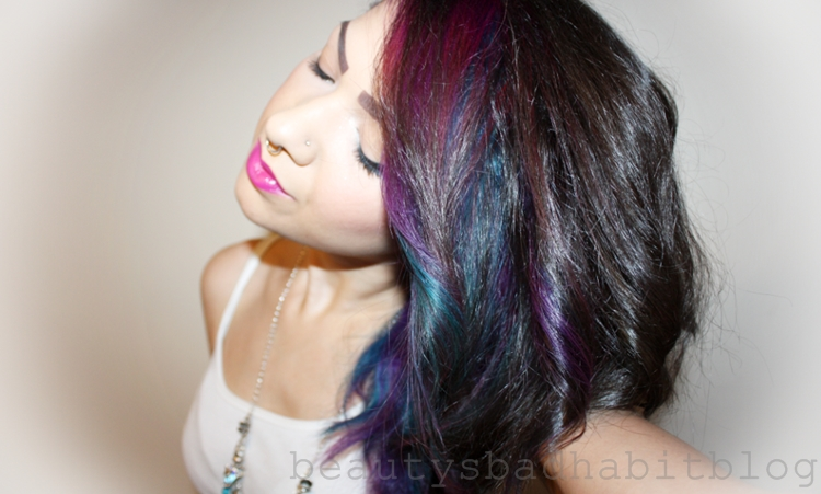 review fudge blueberry hill paint box dye beautys