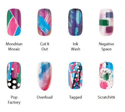 CND Art Vandal Collection Nail Art Designs