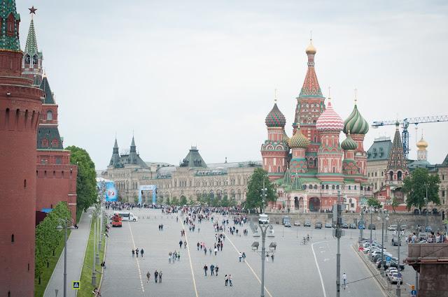 Piata Rosie; Moscova, Rusia