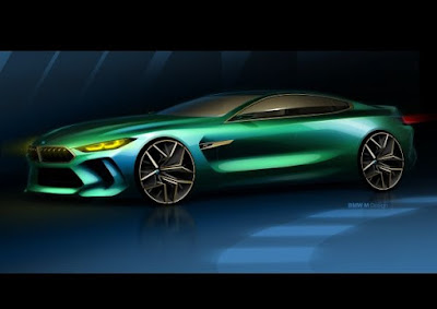 Η BMW Concept M8 Gran Coupe