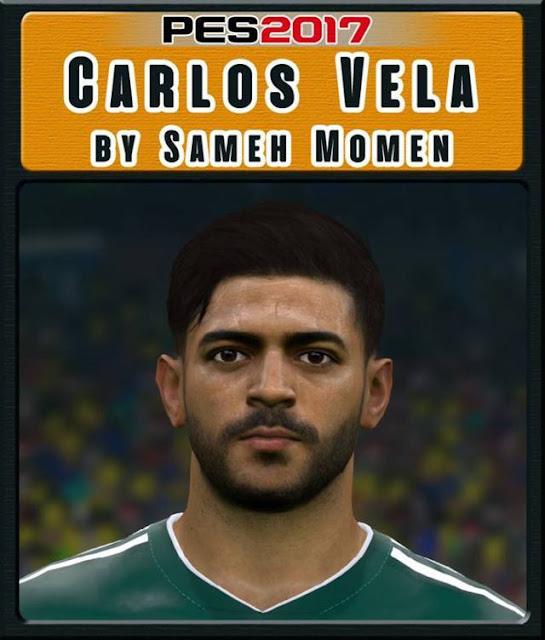 Carlos Vela Face PES 2017