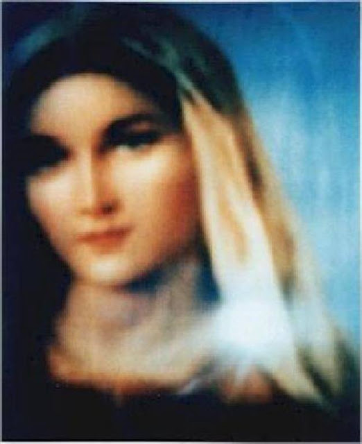 The virgin mary apparition