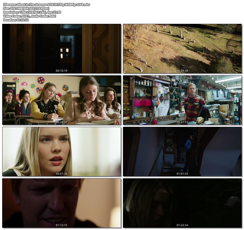 Ghost In The Graveyard 2019 720p WEBRip x264 | 480p 300MB | 100MB HEVC Screenshot