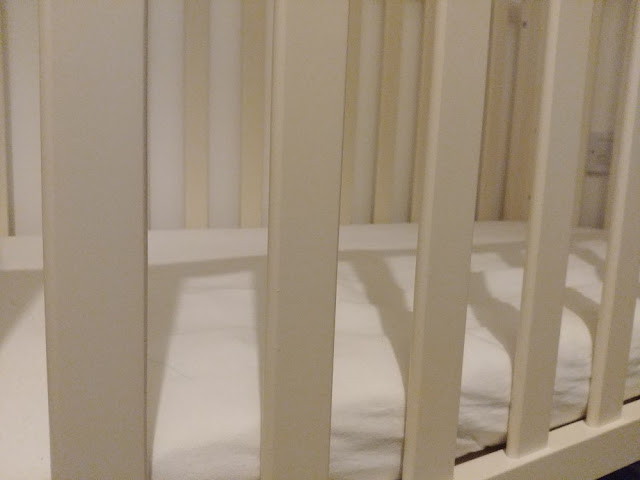 Photo of a baby's cot