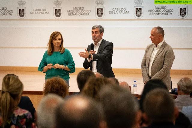 """Fernando Clavijo asegura que """"ahora más que nunca nos jugamos tener voz en Europa, ante el futuro de las políticas agrarias y pesqueras en la UE"""""""