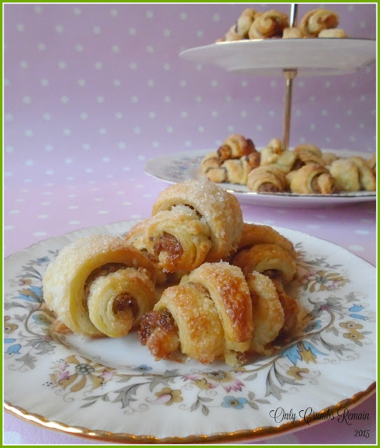Rugelach filled with Sweet Mincemeat