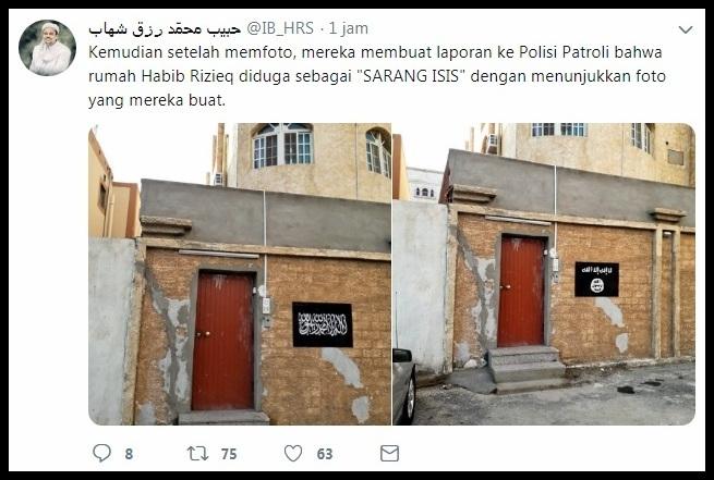 Habib Rizieq Bebas Tuduhan, Pelaku Fitnah Terancam Hukuman Pancung