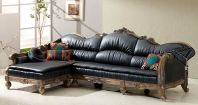 model sofa sudut elegan