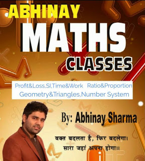 Abhinay Sharma Maths Classes Notes in Hindi & English (PDF)