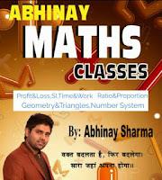 Abhinay Sharma Maths Book PDF Notes Free Download