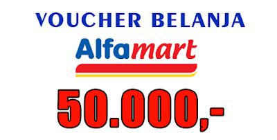 THR Afia Pulsa Voucher Belanja Alfamart