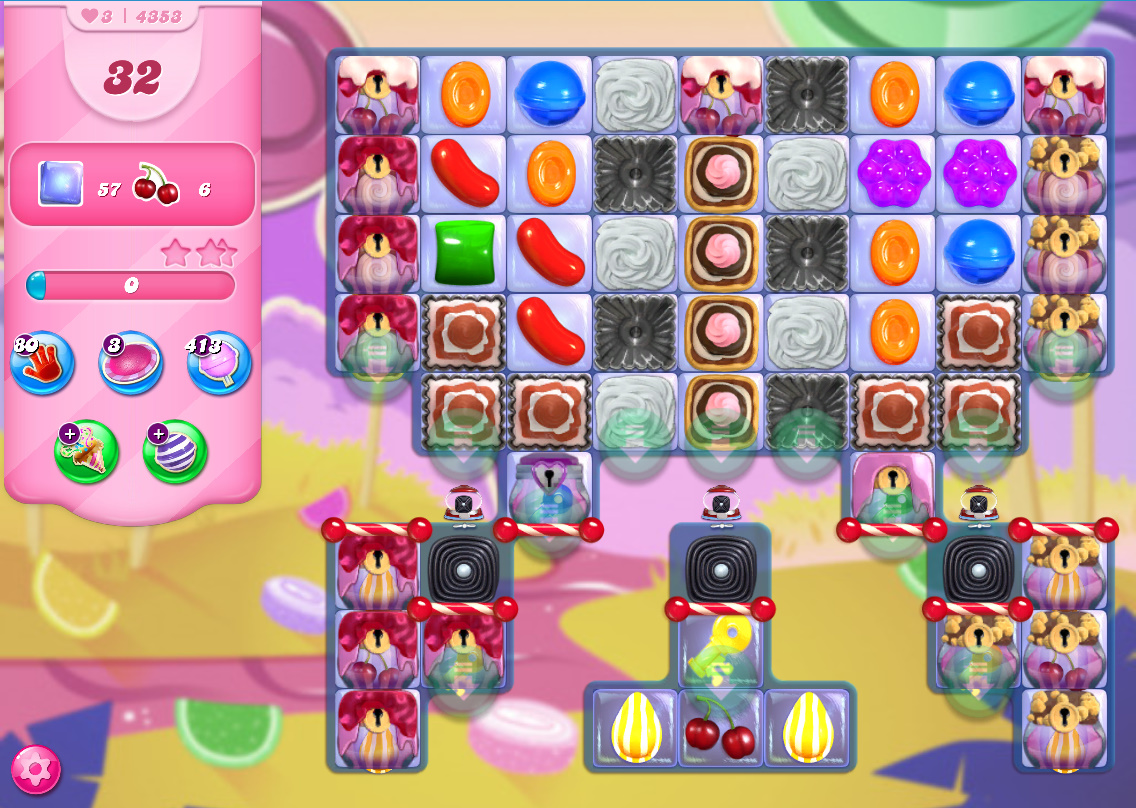 Candy Crush Saga level 4353