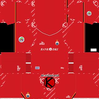 Persija Jakarta Kits 2019 AFC Cup - Dream League Soccer Kits