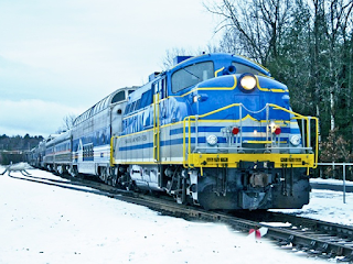 a Train to Christmas Town at Stony Creek Ranch