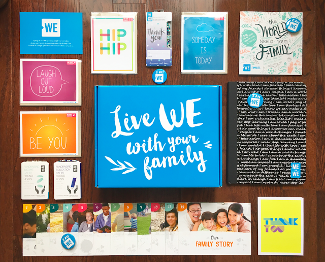 WE Families Kit - Live WE as a Family