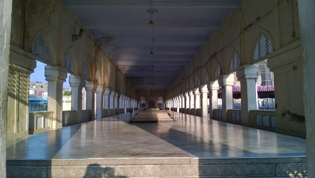 Entrance Courtyard - Mecca Masjid