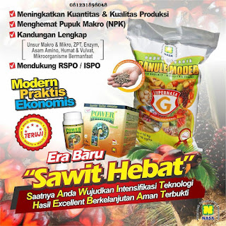 PUPUK ORGANIK SUPERNASA GRANULE DAN POWER NUTRITION