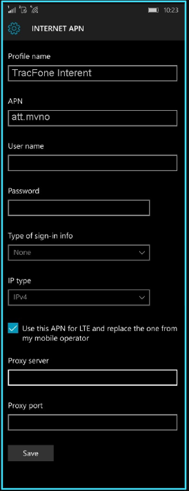 TracFone apn settings windows phone updated