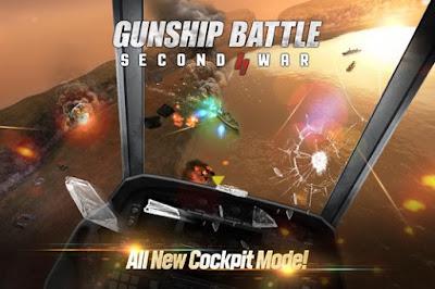 Download Gunship Battle: Second War 1.01.08 Apk Mod Unlimited Money