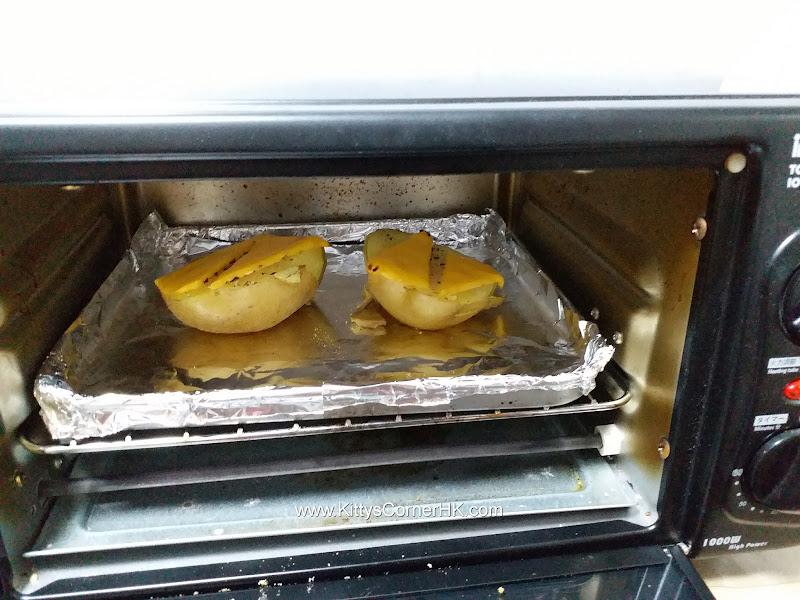 baked cheese potato DIY recipe 芝士焗薯自家食譜
