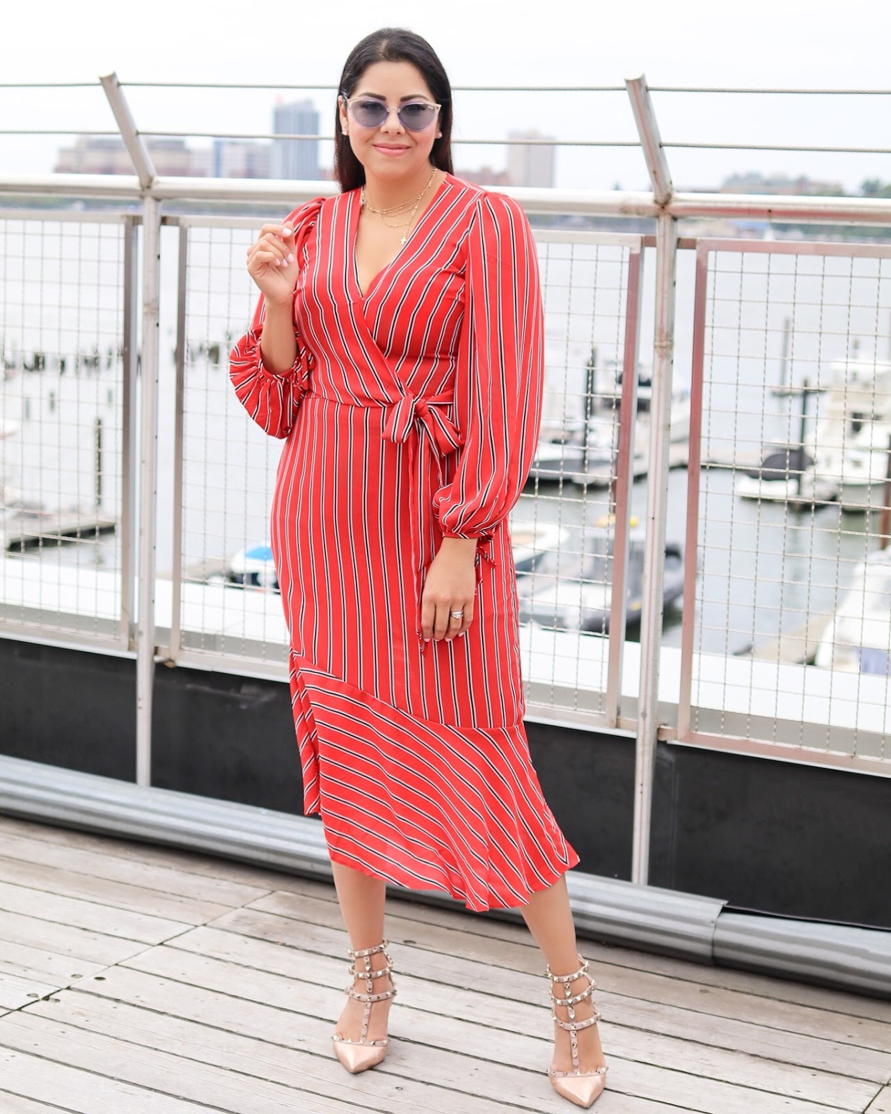 NYFW 2018 Blogger, San Diego Fashion Blogger at NYFW, Asos statement dress