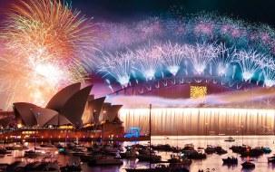 sydney fireworks display