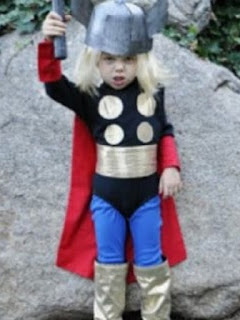 jual kostum anak superhero thor