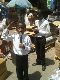 A YOUNG PREACHER OF THE GOSPEL ON STREET