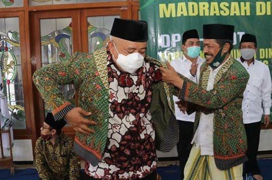 Sanusi Hadiri Sarasehan Penguatan Kelembagaan Madrasah Diniyah se Malang.lelemuku.com.jpg