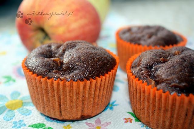 Muffinki szarlotkowe