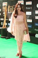 Nidhi Subbaiah Glamorous Pics in Transparent Peachy Gown at IIFA Utsavam Awards 018.JPG
