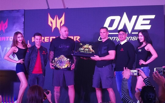 Predator Philippines partners with ONE Championship; Unveils Predator 21 X for Php549,999