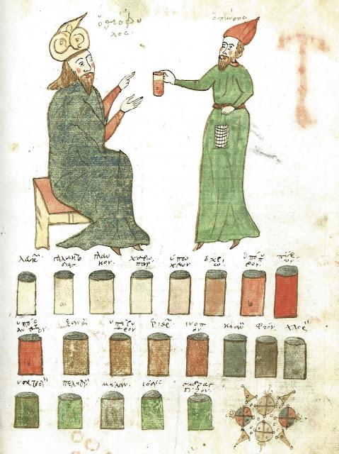 Bologna MS 3632, folio 51r - Theophilus Protospatharius, On Urines
