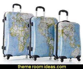 Journey-Maps 3 Piece Luggage Set