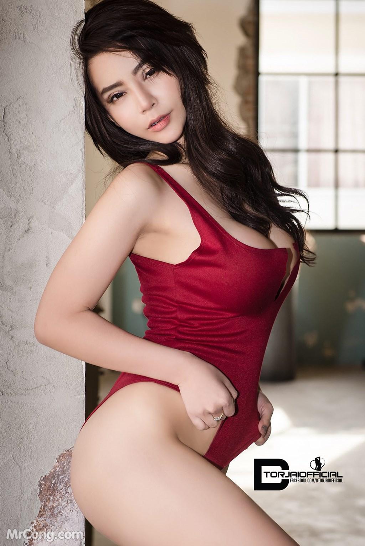 Image Thai-Model-Phatthira-Soonleewong-MrCong.com-008 in post Mê mẩn với vòng ngực nở nang đầy quyến rũ của người đẹp Phatthira Soonleewong (12 ảnh)