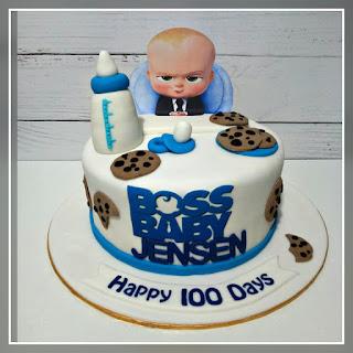 Jenn Cupcakes Muffins Boss Baby Cake