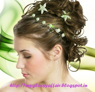 Hair updos for short, medium and long hair