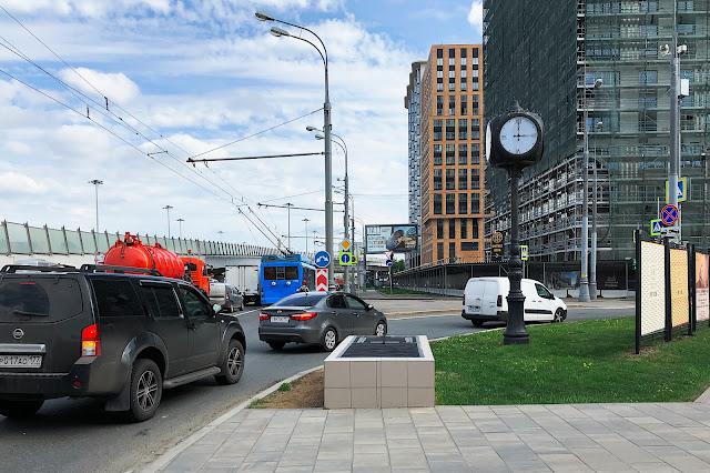 Ленинградский проспект, строящийся комплекс «Царская площадь»