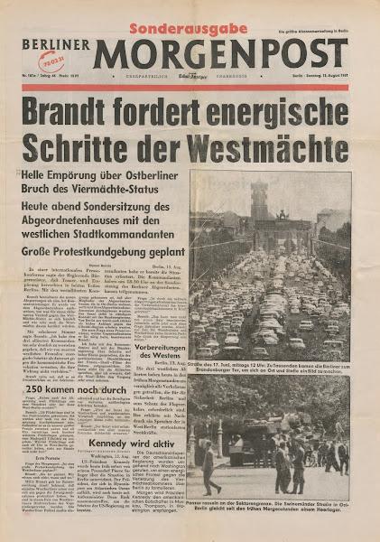 Berlin, Morgenpost, © L. Gigout, 1990