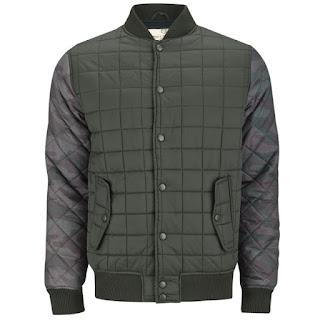 Brave Soul Men's Cleveland Jacket - Khaki/Navy Camo - 13,49€ - También disponible en Azul
