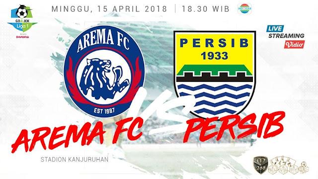 Prediksi Arema FC Vs Persib Bandung, Minggu 15 April 2018 Pukul 18.30 WIB @ Indosiar