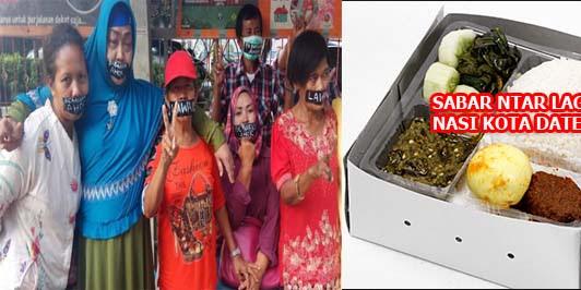 Pendukung Ahok Gelar Aksi Plester Mulut di Mako Brimob, Hingga Nasi Kotak Datang?