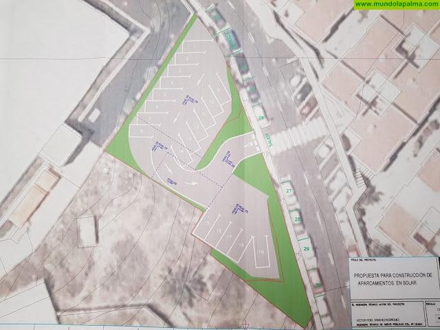 El PP propone crear aparcamientos con espacio para cambiar el sentido de la marcha cerca de La Palmita