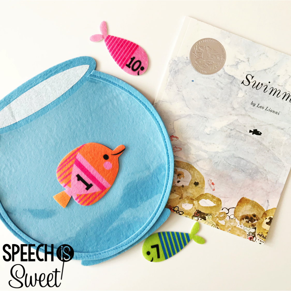 Fish Theme In Speech Therapy Speech Is Sweet