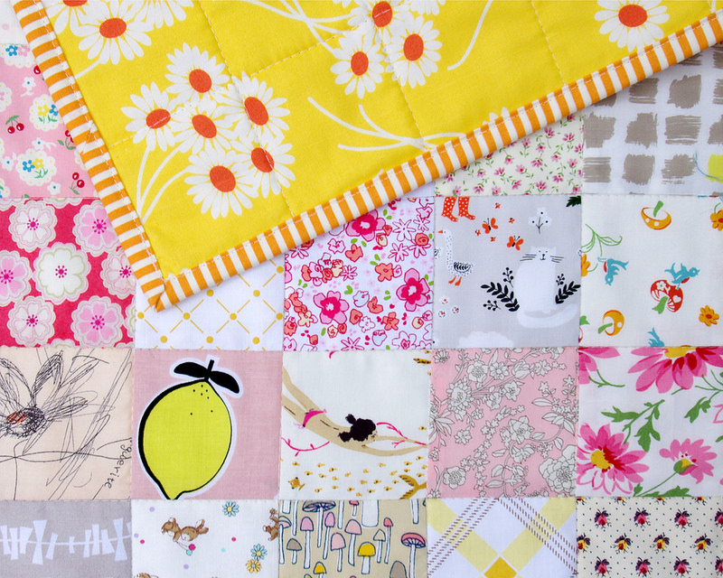 For the Love of Patchwork II - backing and binding fabric | Red Pepper Quilts 2016