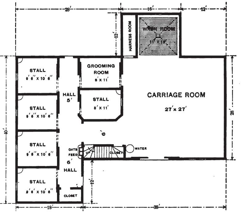 Coleman Travel Trailers Floor Plans >> 19th Century Historical Tidbits: 1896 House, Carriage House & Floor Plans
