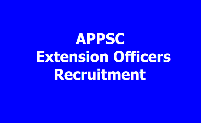 APPSC Extension Officers (Supervisors)