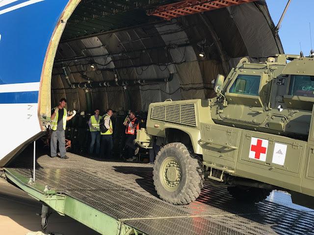 El Ejército despliega 3 blindados RG-31 y un vehículo de recuperación para la misión de Mali