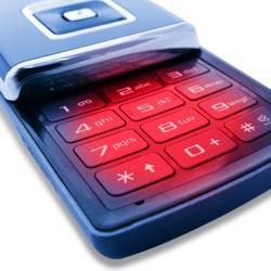 clavier de téléphone portable