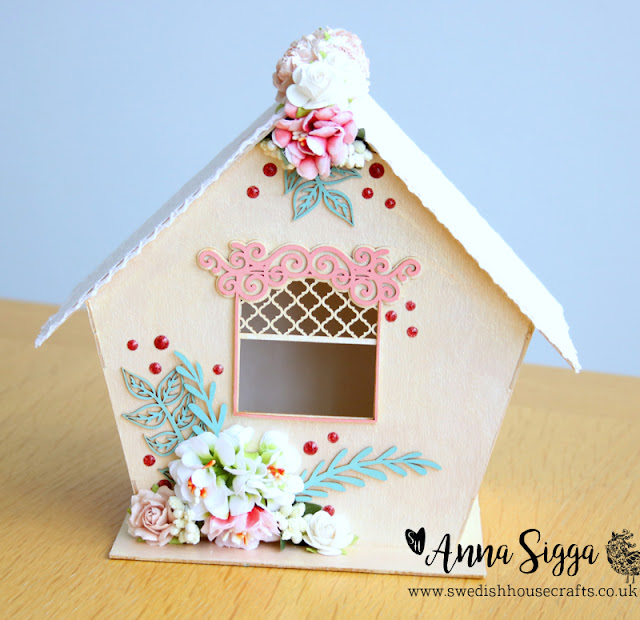Precious Bird-house using Laserowe chipboard | By Anna Sigga